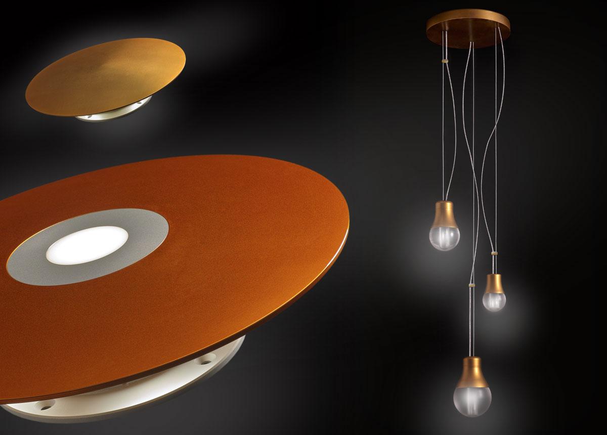 Faretti a led e plafoniere luci a led image02
